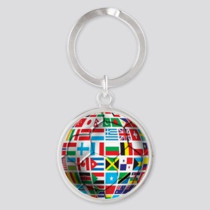 World Soccer Ball Keychains