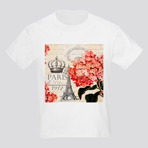 Paris hydrangea T-Shirt