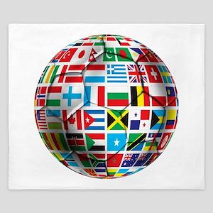 World Soccer Ball King Duvet