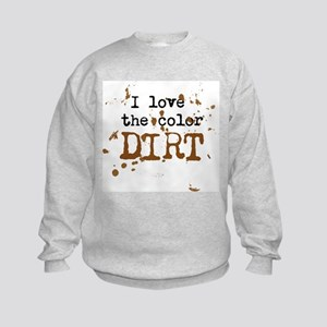Color of Dirt Kids Sweatshirt