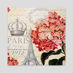 Paris hydrangea Queen Duvet
