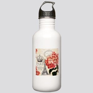 Paris hydrangea Stainless Water Bottle 1.0L