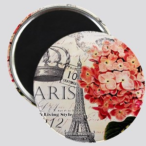 Paris hydrangea Magnets