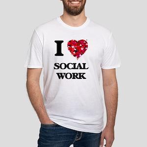 I love Social Work T-Shirt