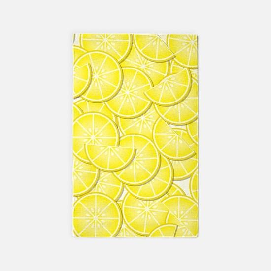 Lemons 3'x5' Area Rug