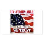Unstompable Sticker