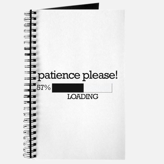 Patience please... loading Journal