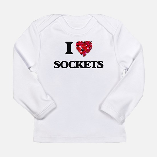 I love Sockets Long Sleeve T-Shirt
