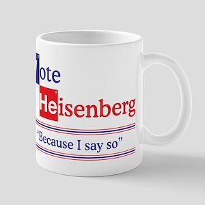 Vote Heisenberg Mug