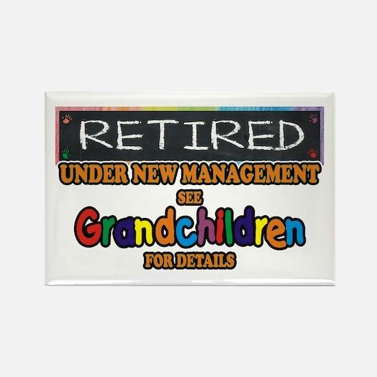 Retired Under New Management Magnets