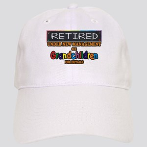 Retired Under New Management Baseball Cap