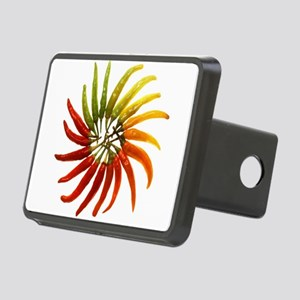 Charleston Hot Peppers Col Rectangular Hitch Cover