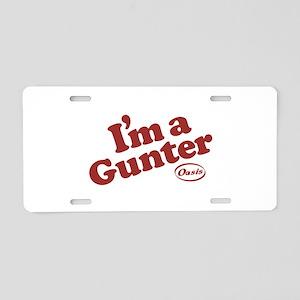 Gunter2 Aluminum License Plate
