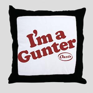 Gunter2 Throw Pillow