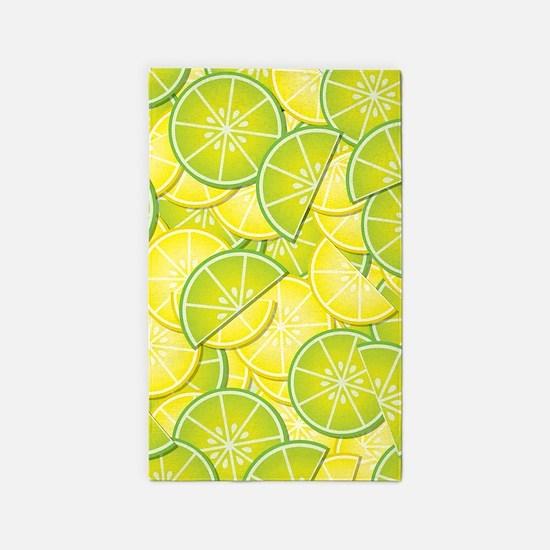 Lemon Lime 3'x5' Area Rug