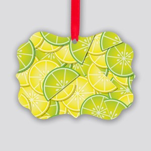 Lemon Lime Picture Ornament