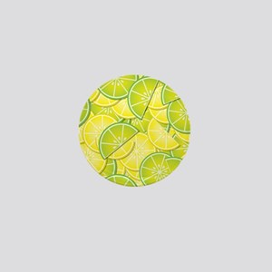 Lemon Lime Mini Button