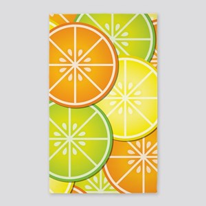 Citrus Fruit 3'x5' Area Rug