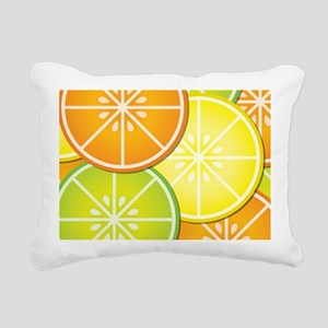 Citrus Fruit Rectangular Canvas Pillow