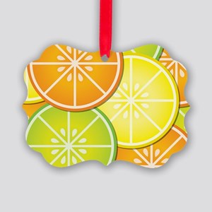 Citrus Fruit Picture Ornament