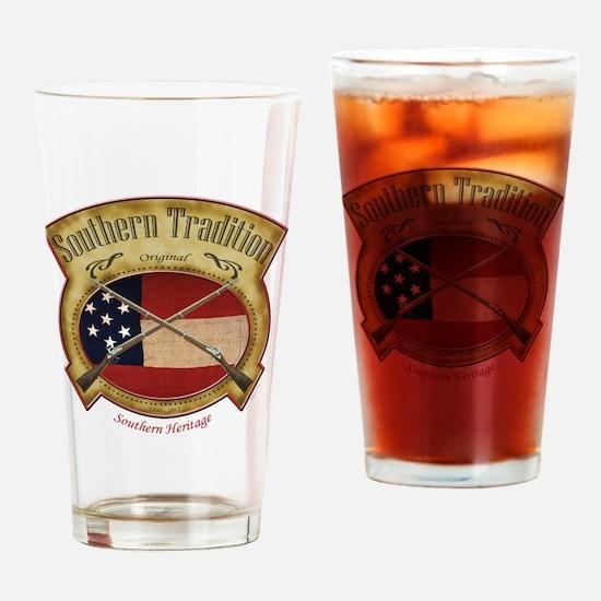 Cute Dixie Drinking Glass