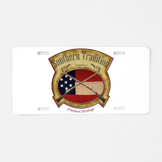 Cute Southern Aluminum License Plate