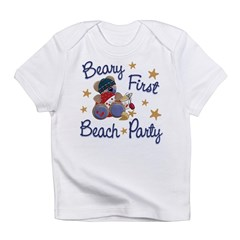 Beary 1st Beach Party Infant T-Shirt