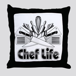 Chef Life Throw Pillow
