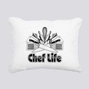 Chef Life Rectangular Canvas Pillow