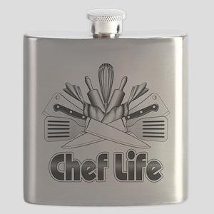Chef Life Flask