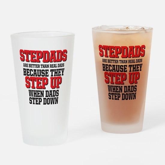 Stepdads step up Drinking Glass