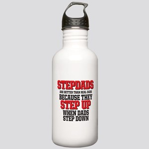 Stepdads step up Water Bottle