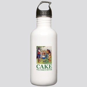 Cake Will Make It Bett Stainless Water Bottle 1.0L