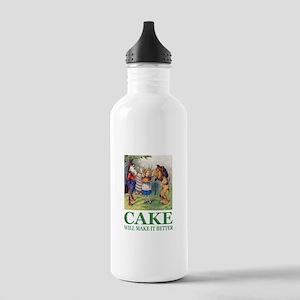 Cake Will Make It Bett Stainless Water Bottle 1.0L