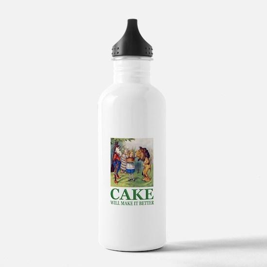Cake Will Make It Bett Water Bottle