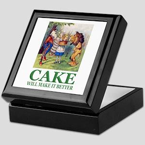 Cake Will Make It Better Keepsake Box