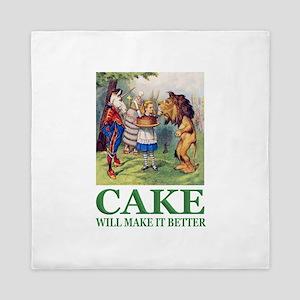 Cake Will Make It Better Queen Duvet