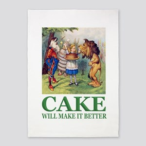 Cake Will Make It Better 5'x7'Area Rug