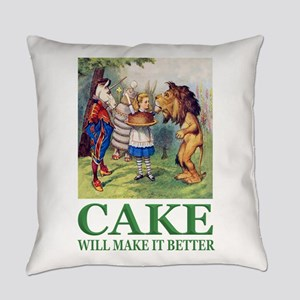 Cake Will Make It Better Everyday Pillow