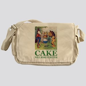 Cake Will Make It Better Messenger Bag