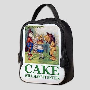 Cake Will Make It Better Neoprene Lunch Bag