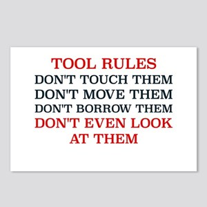 TOOL RULES Postcards (Package of 8)