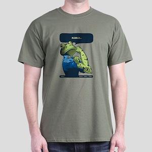 Rosie the Ribbiter Dark T-Shirt
