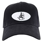 Uller Badge Baseball Hat Black Cap