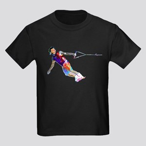 Super Crayon Colored Wakeboarding T-Shirt