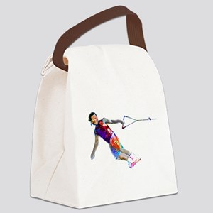 Super Crayon Colored Wakeboarding Canvas Lunch Bag