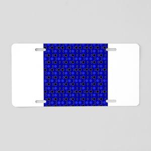 Blue Black Comeback 4Keith Aluminum License Plate