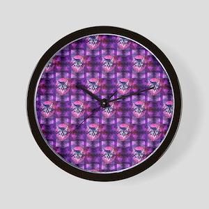 illuminati cat Wall Clock