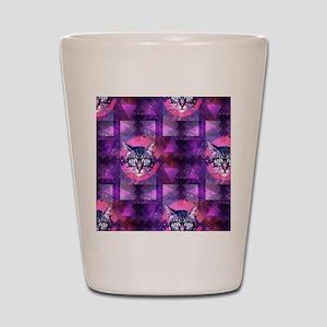 illuminati cat Shot Glass