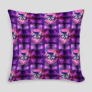 illuminati cat Everyday Pillow